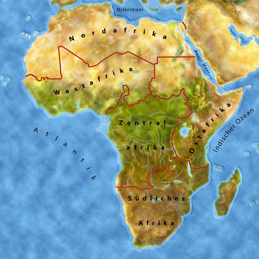 Afrika Der Ungezähmte Kontinent