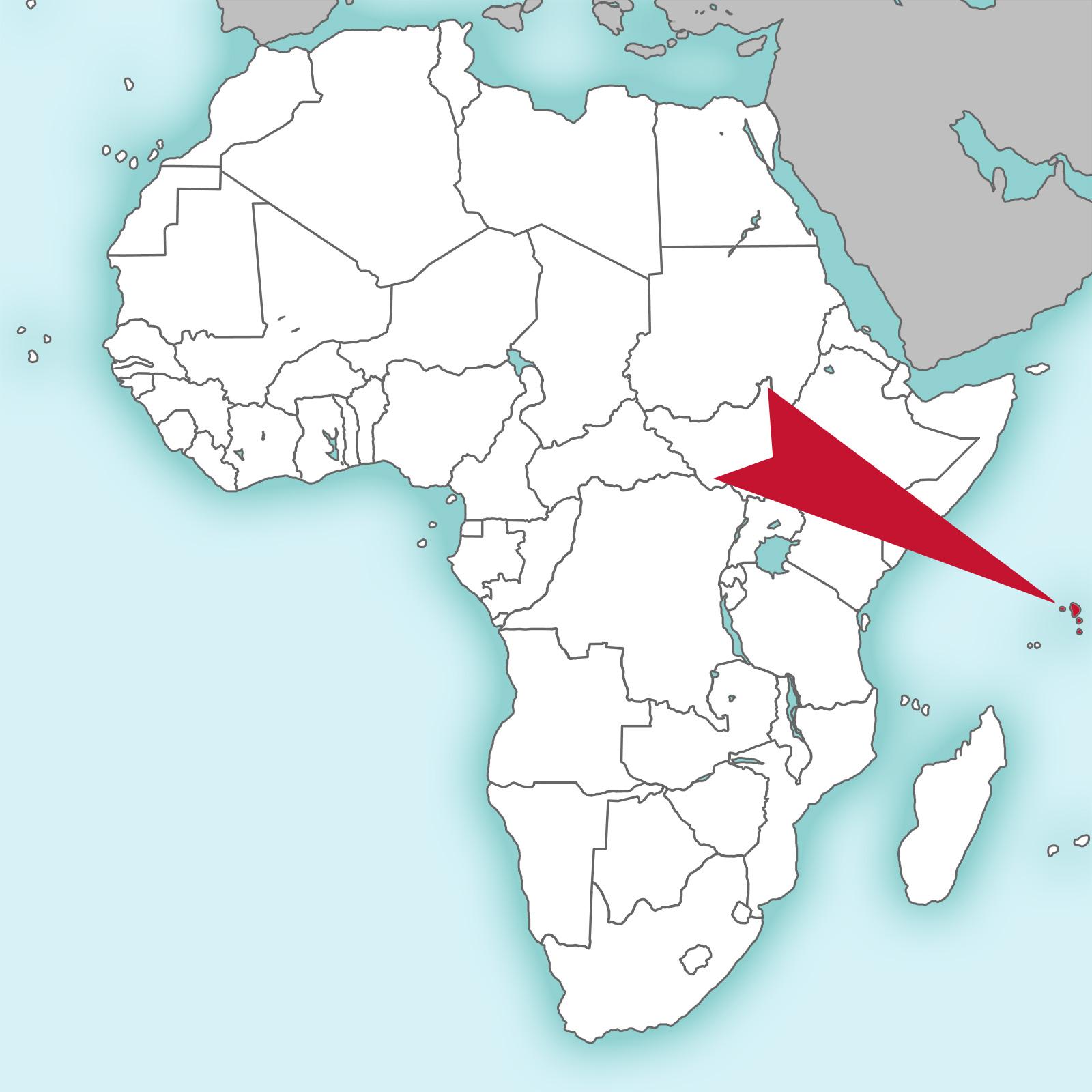 Seychellen Karte Afrika.Afrika Junior Seychellen