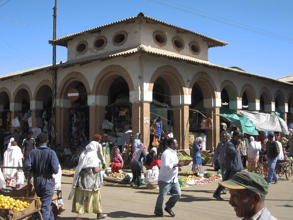 Markt in Asmara (c) David Stanley CC BY SA 2.0