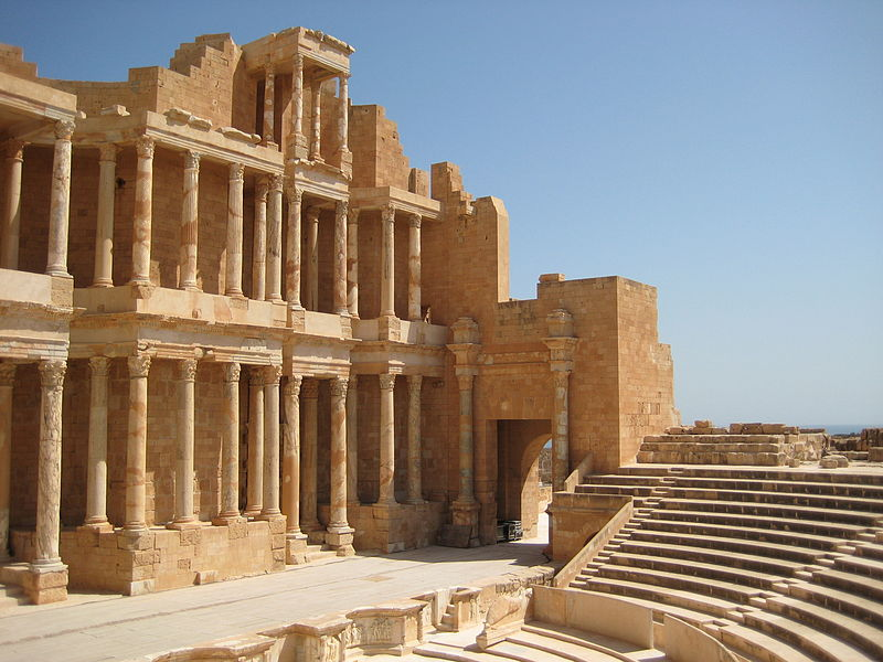 Theaterforum in Sabratha (c) Sasha Coachman