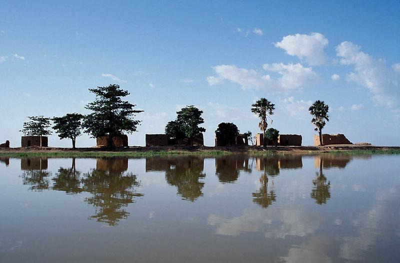 Der Fluss Niger
