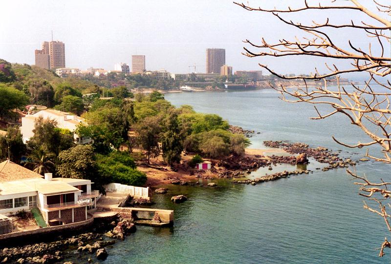 Die Bucht von Dakar