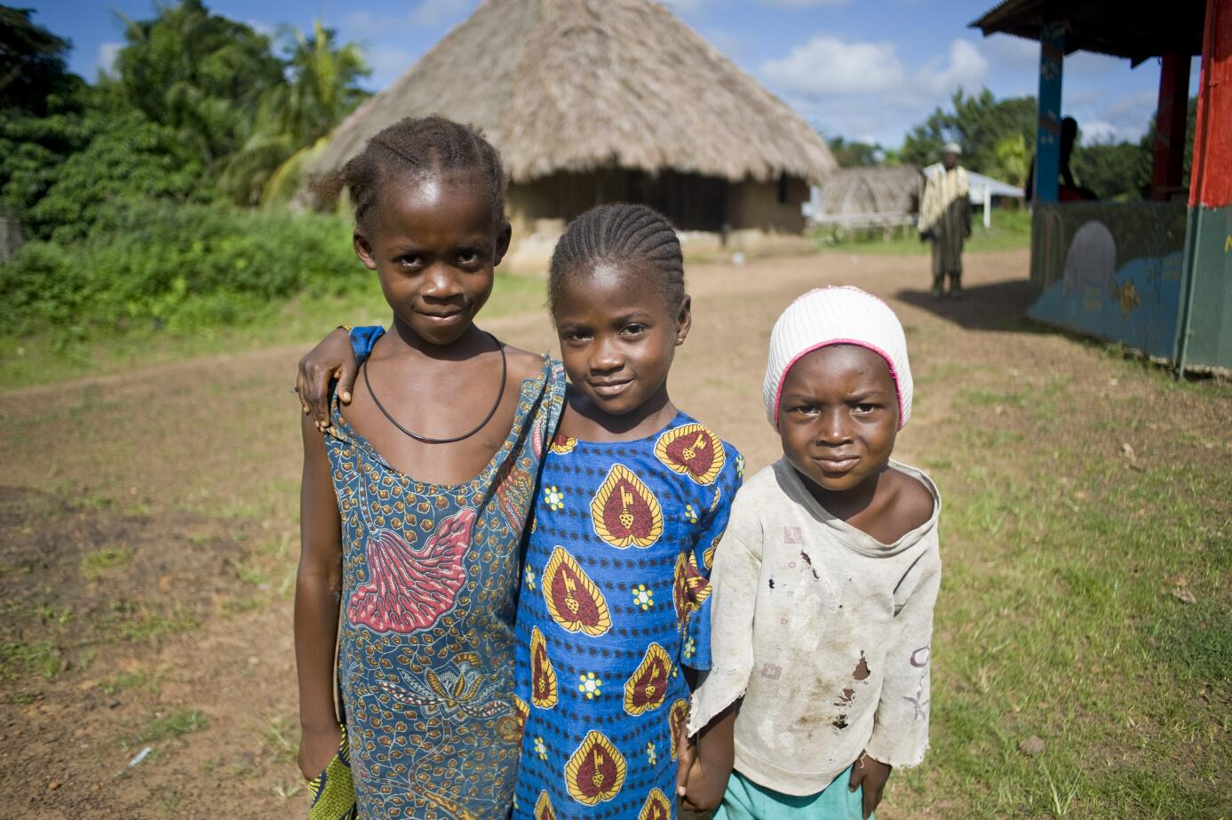 Kinder in Tiwai, Sierra Leone (c) Tourist Board of Sierre Leone