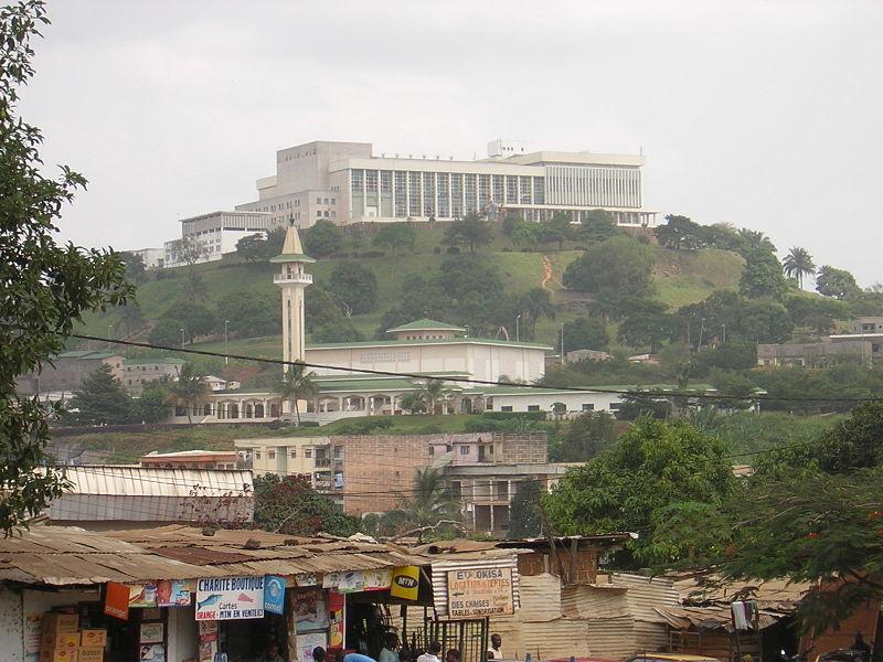 Jaunde - auf dem Hügel der Präsidentenpalast